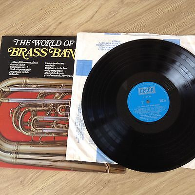 THE WORLD OF BRASS BANDS - LP Record - DECCA Records - EX/EX