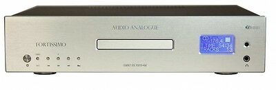 Audio Analogue Fortissimo Lettore Cd Dac Air Tech New Silver