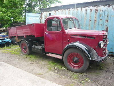 1951 Bedford  K Type Tipper Lorry Red