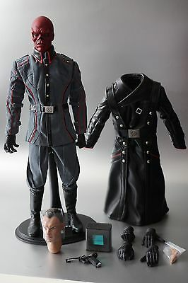 HOT TOYS 1/6 Marvel Captain America MMS167 RED SKULL - Loose - Factory Fresh!