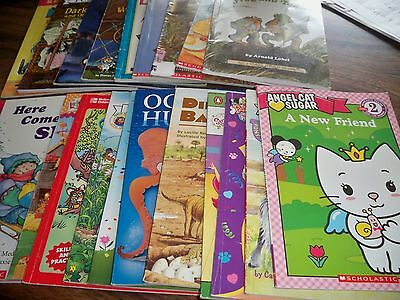 Lot of 21 Learn to Read Children's Books Leveled Readers