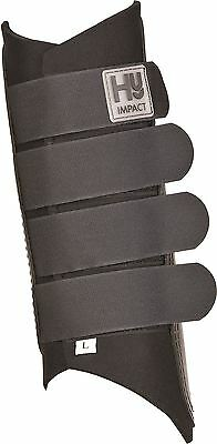 HyIMPACT Black Exercise Boots for Horses- Sold in Pairs 6265P