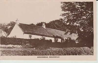 RP Early MOUSWALD VILLAGE Breconrae - large thatched bungalow