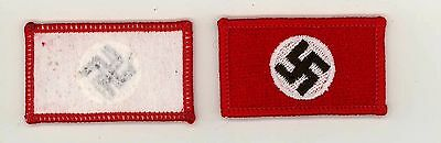 """German Victory Flags Repro WWII 2""""x1"""" Victory Flag Patch AF"""