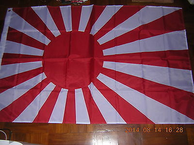 Correct version Reproduced WWII Japan Empire Japanese Navy Naval Ensign 3X5ft