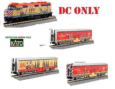 Kato 106-2015 Operation North Pole ** Dc **4 Pc  Set