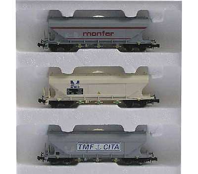 Wagon N 1/160 Arnold Hn6016 - 3 Wagons Cerealiers