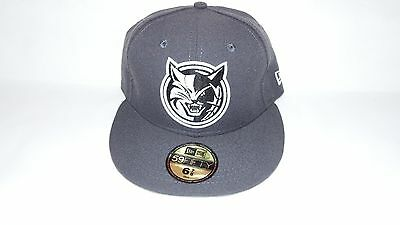 Nwt New Era Hat Cap Fitted Bobcats Charlotte Nba Size 7 Grey White