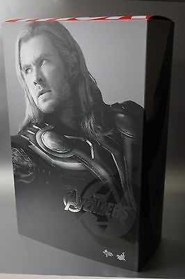 Hot Toys 1/6 Marvel Avengers Thor Masterpiece Figure - Exclusive Version -Nib!