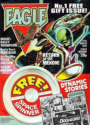 EAGLE 1980s-90s SERIES 400+ ISSUES ON DVD DAN DARE DOOMLORD ++