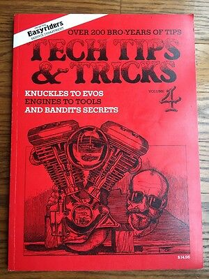 Easyriders Easy Rider Tech Tips And Tricks Volume 4 Harley Service Manual