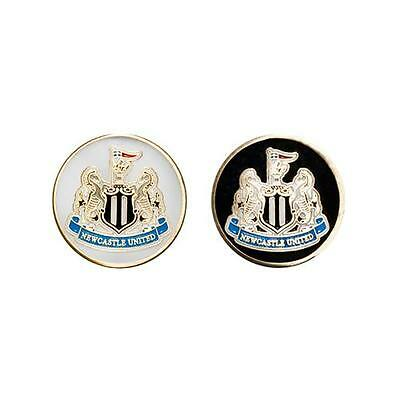 Newcastle United Golf Ball Marker Crest Gift Official Licensed Football Product