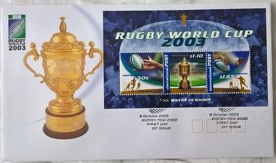 Australia Stamps, First Day Cover, Rugby World Cup 2003 - 8/10/2003