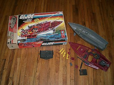 1985 Hasbro GI Joe Cobra Moray Hydrofoil With Original Box And Parts Vehicle