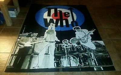 """The Who  Banner , size 83""""x59"""""""