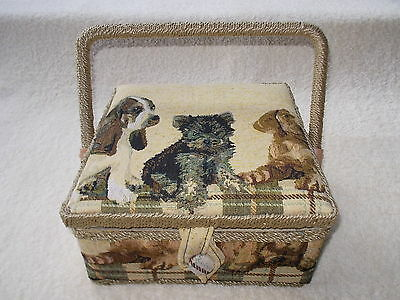 Sewing Basket including contents