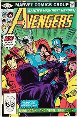 Avengers #218 Vf/ Nm- American Marvel Comics 1982