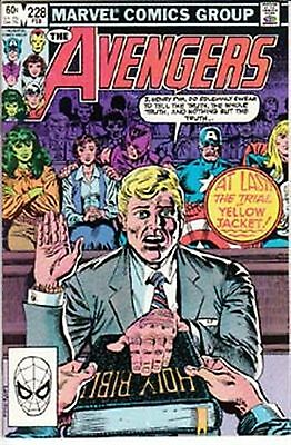 Avengers #228 Vf/ Nm- American Marvel Comics 1982
