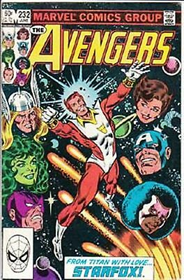 Avengers #232 Vf/ Nm- American Marvel Comics 1983