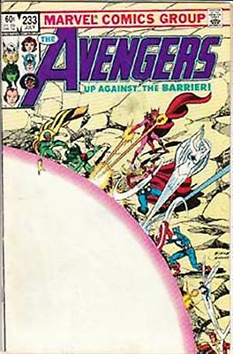 Avengers #233 Vf/ Nm- American Marvel Comics 1983