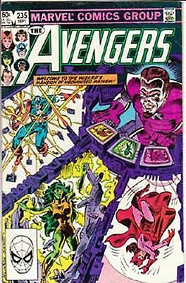 Avengers #235 Vf/ Nm- American Marvel Comics 1983