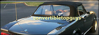 FIAT 124 SPIDER 2000 and PININFARINA ROADSTER CONVERTIBLE TOP PACKAGE: 79-85
