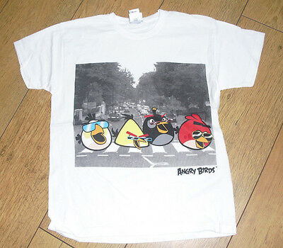 Boys Short Sleeved Angry Birds T-Shirt Age 9 - 10 Years