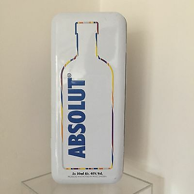 Rare Absolut Vodka Ltd Edition Miniatures Tin - Empty