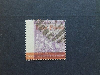 """1868 CAPE OF GOOD HOPE USED """"Four Pence"""" SURCHARGE STAMP SG 27"""