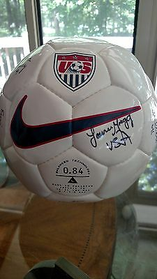 1998 USA Womens National Team Signed Soccer Ball NIKE HAMM LILLY AKERS MORE