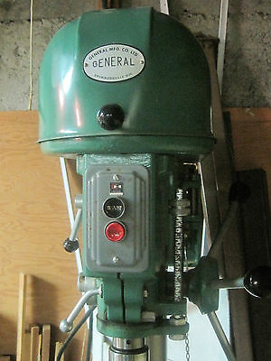 General Mfg. Co  drill press