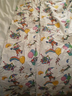 Vintage Lined Childrens Curtains