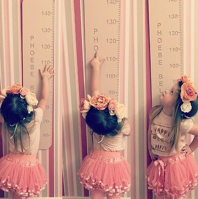Personalised Wooden Height Chart
