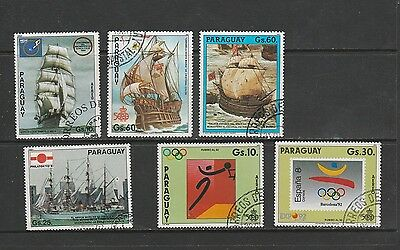 Selection Of 6 Used Stamps