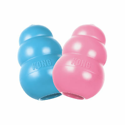 KONG PUPPY KONG Durable Rubber Chew and Treat Toy For Dogs Large