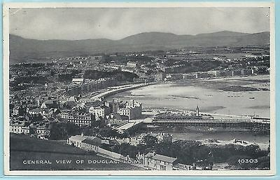 1950s Postcard – General View of Douglas, Isle of Man