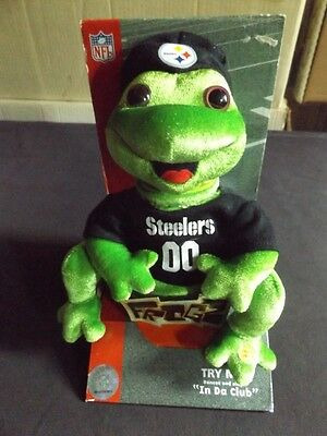 "Rare Steelers Frogz Nib Hip Hop Playes ""in Da Club""  Does Work"