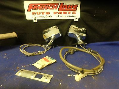 NOS 1974-1978 Chrysler New Yorker EXTERIOR Side View Mirrors 1975 1976 1977,PAIR
