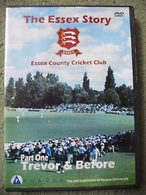 THE ESSEX STORY DVD Trevor Bailey and before ....Essex County cricket Club
