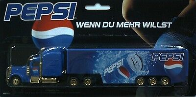 PEPSI Cola - If you want more (N° 2)  / truck, US Freightliner, Scale 1:87/HO
