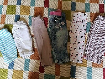 baby girl trouser bundle 9-12 months