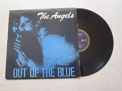 "The Angels - Out Of The Blue 12"" 45 Rpm Single Alberts 1979 Doc Neeson Oz Rock"