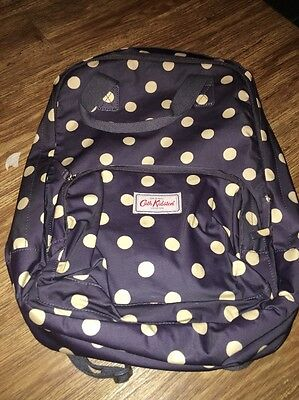 Cath Kidston Backpack Button Spot Brand New With Tags