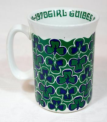 Vintage Diamond Jubilee of Girl Guides 1910-1970 Mug by Adams