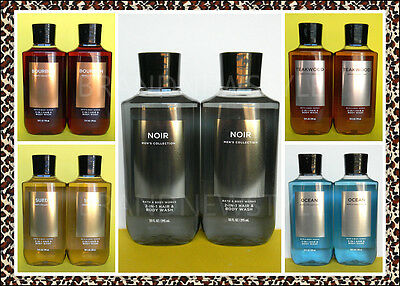 2 Bath & Body Works MENS Signature Collection 2 in 1 HAIR BODY WASH NEW VERSION