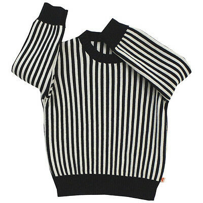Tiny Cottons New Stripes Knit Long Sleeve Designer Sweater 4 Nwt