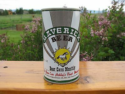 MAVERICK Beer 1980 Historical Pull Tab Beer Can