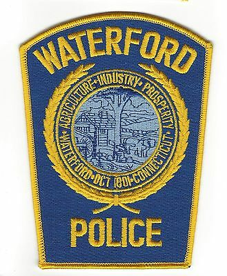Waterford (New London County) CT Connecticut Police Dept. patch - NEW!