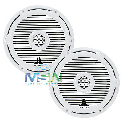 """JL AUDIO M880-CCX-CG-WH 8.8"""" 2-Way MARINE COAXIAL SPEAKERS w/ CLASSIC GRILLES"""