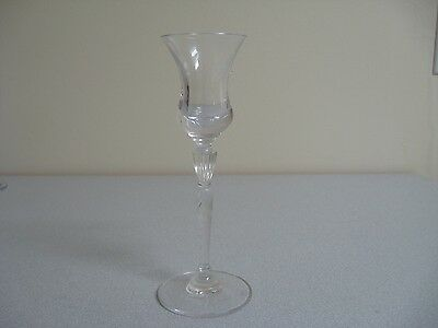 Royal Doulton Crystal Candle Holder Glass Candlestick Oxford Single
